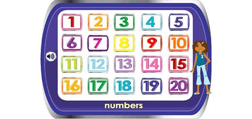 Учим цифры до 20