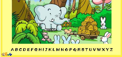 Найди все буквы алфавита 3