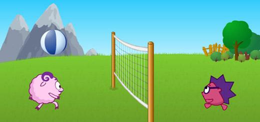 смешарики-волейбол