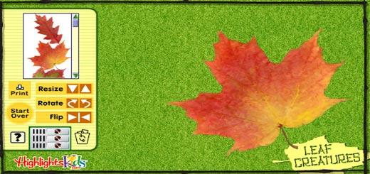 игра-осень