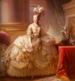 женская мода 18 век