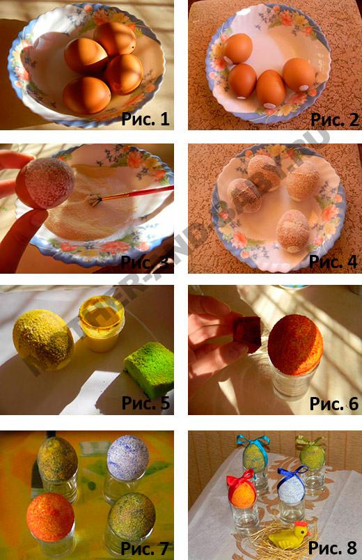 как украсить яйца на пасху 2