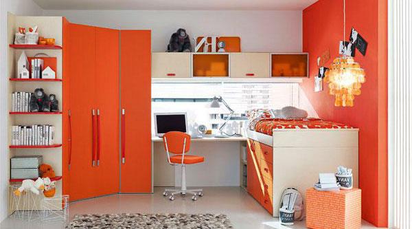 оранжевый-цвет-детской