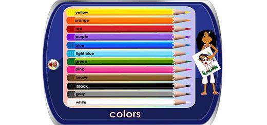 Учим цвета на английском