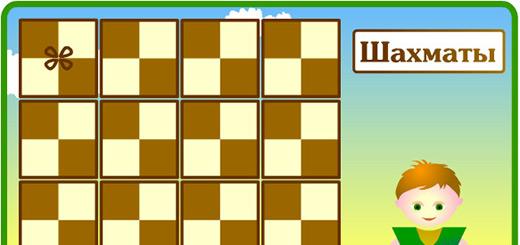 Учим шахматные фигуры
