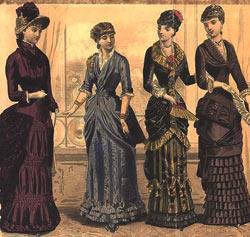 женская мода 19 века