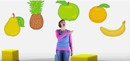 «Веселая школа» фрукты 1