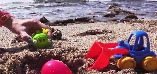 Пляжное видео горячо-холодно