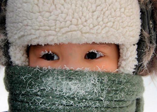 безопасность ребенка на морозе