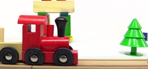 Робокар Поли спасает поезд