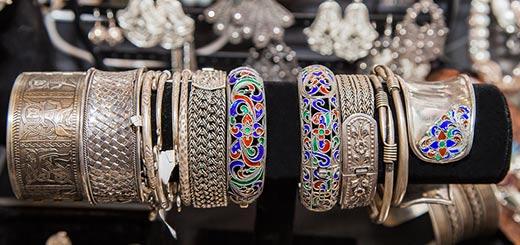 Серебряные-браслеты