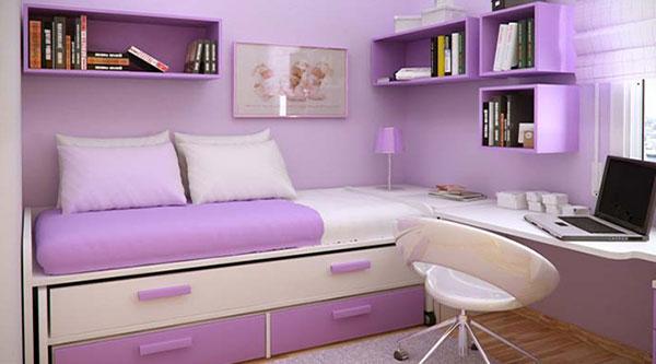фиолетовый-цвет-детской