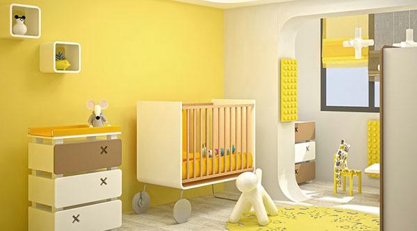 желтый-цвет-детской